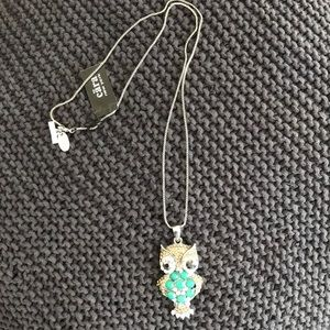 Owl Necklace by CARA New York. NEW with tag